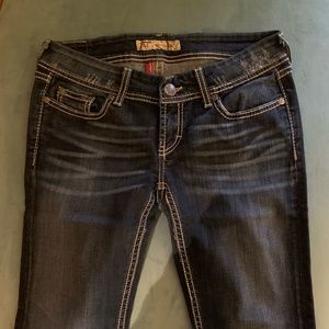 Buckle Jeans - Buckle Flared Jeans